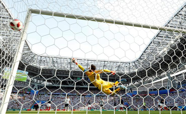 Francia-Argentina, en imágenes