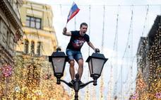 Rusia se ve en lo más alto tras eliminar a España