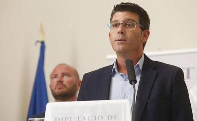 El pleno de la Diputación de Valencia para aceptar la renuncia de Jorge Rodríguez será la próxima semana