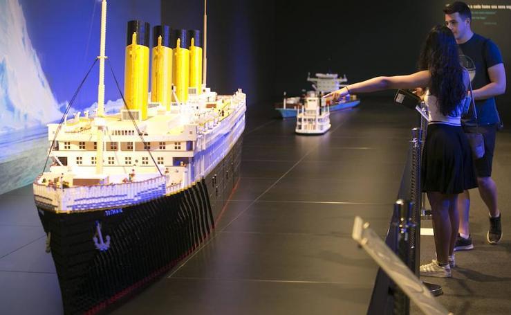 Así es la exposición de 20.000 piezas de Lego en Valencia
