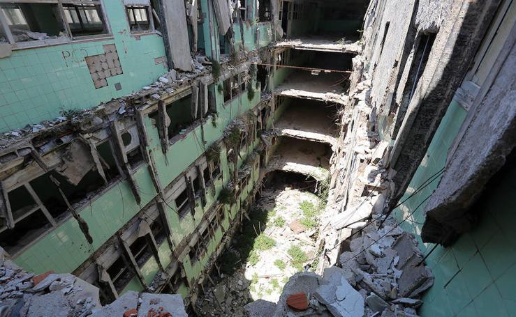 Las ruinas de la fábrica Avidesa: el origen de la 'revolución industrial valenciana'