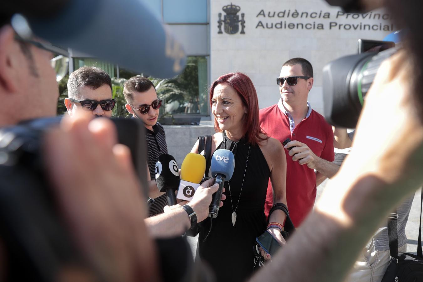 Los portavoces de los grupos políticos en la Diputación declaran sobre el caso Alquería