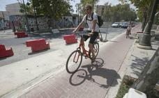 El Ayuntamiento da luz verde a los proyectos del carril bici en las Grandes Vías, Primado Reig y la avenida del Puerto