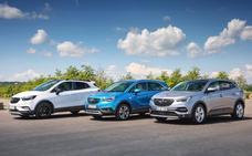 La gama X de Opel mira hacia adelante