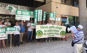 Nueve de cada diez plazas libres en las aulas de Valencia están en los colegios públicos