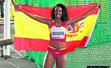 María Vicente bate el récord mundial sub-18 en heptatlón
