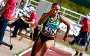 Carmen Ramos, récord de España y mínima para el Europeo en heptatlón