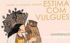 Un juzgado investiga a una madre y su hijo por el cartel del beso de las Vírgenes