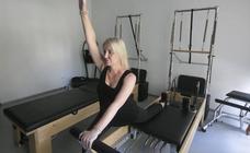 Verónica Montijano, pilates en serie