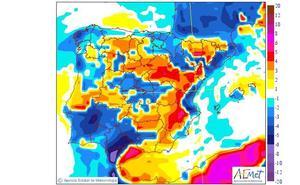 El calor sofocante deja paso a las tormentas de verano en el interior