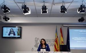 Oltra avisa: será difícil que los empleados de Divalterra pasen a la Generalitat