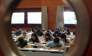 Listado de admitidos en la Universidad de Valencia, Alicante y Castellón