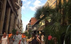 Un apagón altera la tarde de compras en Don Juan de Austria