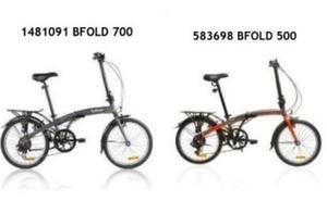 Decathlon retira de las tiendas y de su web dos modelos de bicicletas plegables