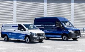 Mercedes 'eVito' y 'eSprinter': El transporte más ecológico
