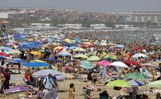 Alerta por calor en cien municipios