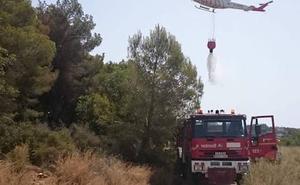 Extinguido el incendio forestal declarado en el parque natural de El Montgó