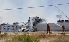 Una empresa de reciclaje de Silla arde por segunda vez en dos semanas