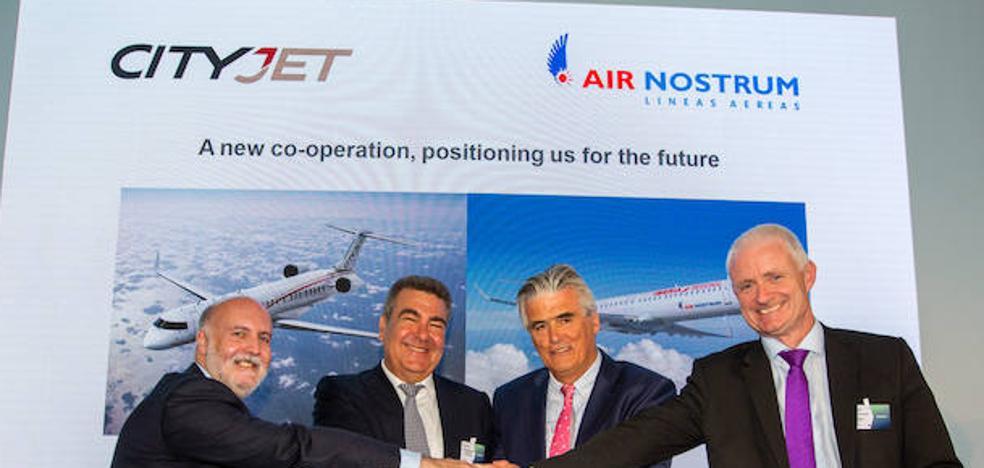 Air Nostrum y Cityjet se unen en el mayor grupo europeo de aerolíneas regionales
