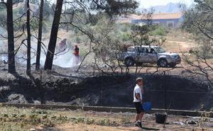 Dan por extinguido el incendio de La Xara que afectó también al parque natural de Montgó