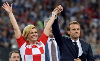 Kolinda, la presidenta del Mundial