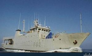 El patrullero 'Alborán' de la Armada atraca en Valencia y se podrá visitar