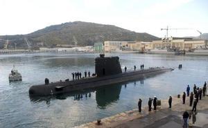 El submarino estrella de la Armada española no cabe en la fosa de atraque de Cartagena por un error en el diseño