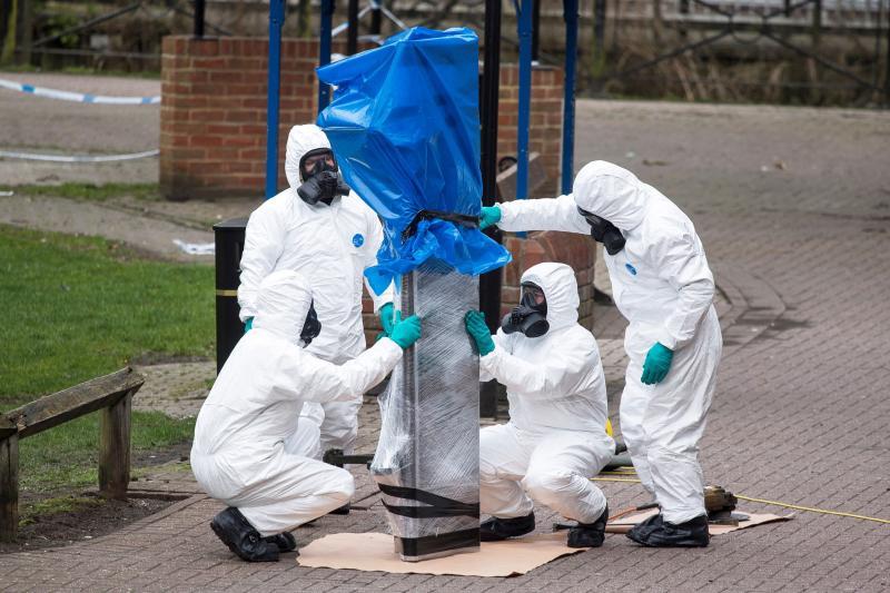 La Policía británica cree haber identificado a los autores del envenenamiento de los Skripal