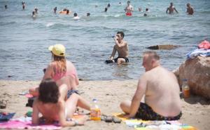 Un cetáceo muerto obliga a prohibir el baño en parte de la playa de Benicàssim