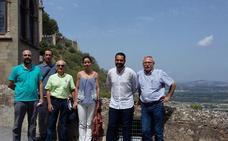 Xàtiva firma el acta para el próximo inicio de las obras en el torreón del castillo Menor