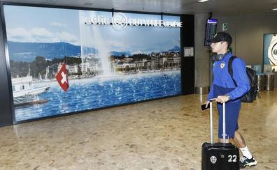 El Valencia ya está instalado en los Alpes suizos