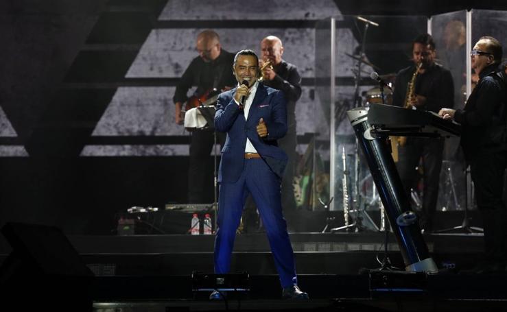 Concierto de Alejandro Fernández en Valencia