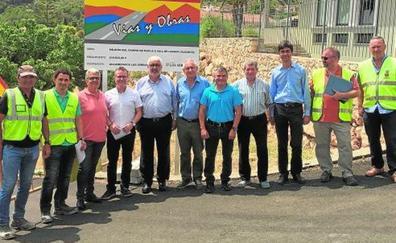 La Diputación inicia las obras del Plan de Caminos Supramunicipales