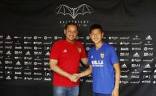 Kangin Lee: «Es un sueño estar en el Valencia CF»