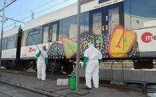 La Comunitat, entre las cuatro autonomías más afectadas por los grafitis