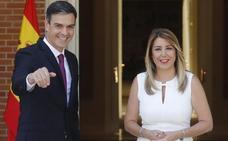 Díaz sobre Casado: «No ha llegado a Génova y ya amenaza con quitar a Andalucía 350 millones»