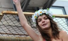 Se suicida la fundadora de Femen Oksana Shachko