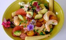 Piden precaución en el consumo de pétalos de flores en la alta gastronomía