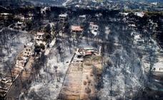 Grecia busca a los desaparecidos de los incendios que dejan ya 81 muertos