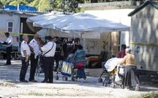 Desalojan el mayor campamento gitano de Roma