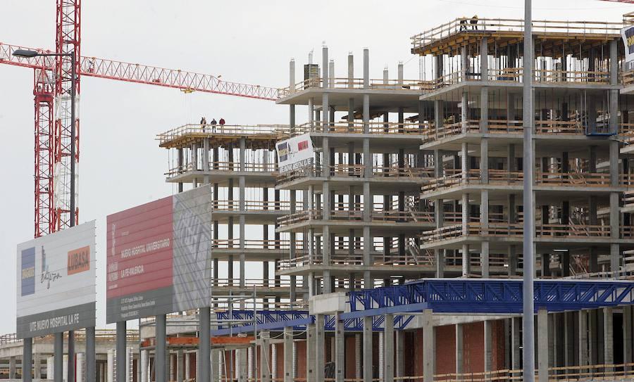 Sanidad remite a fiscalía presuntas irregularidades en las obras del nuevo hospital La Fe