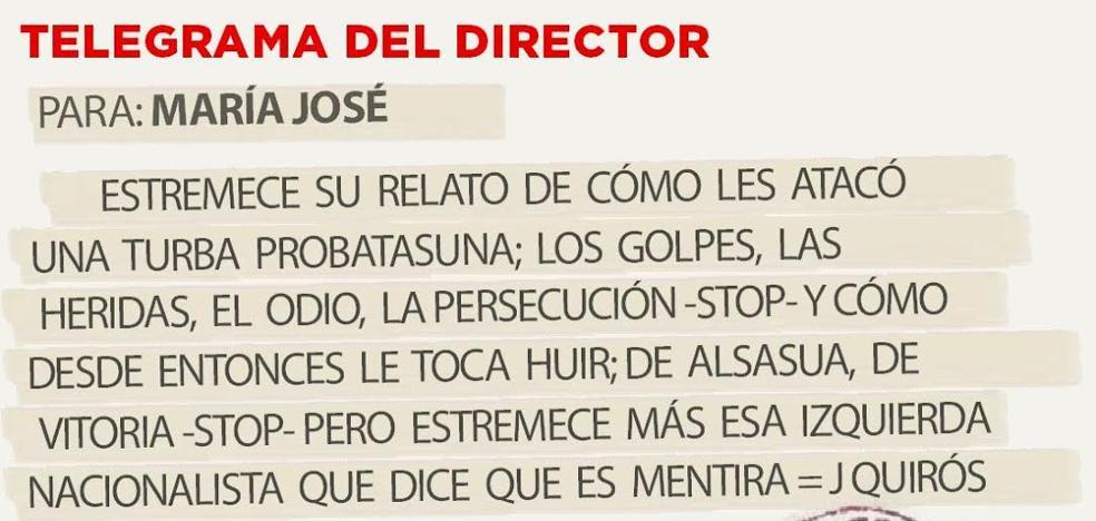 Telegrama para María José