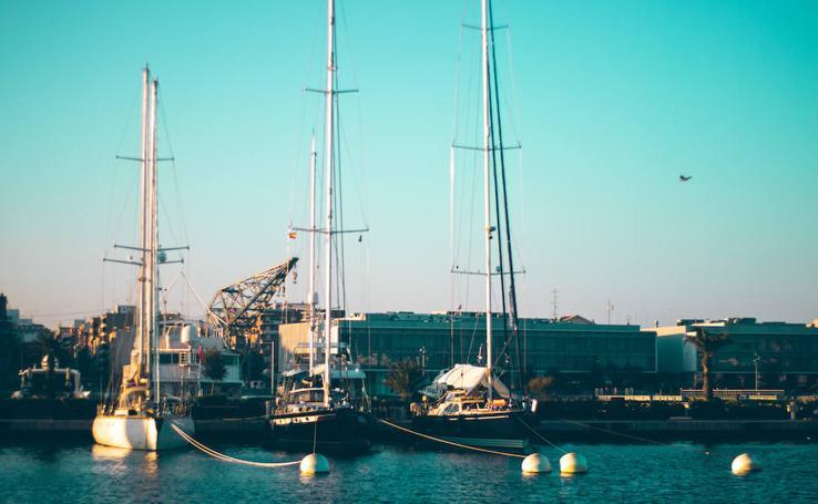 Los colores de la Marina de Valencia