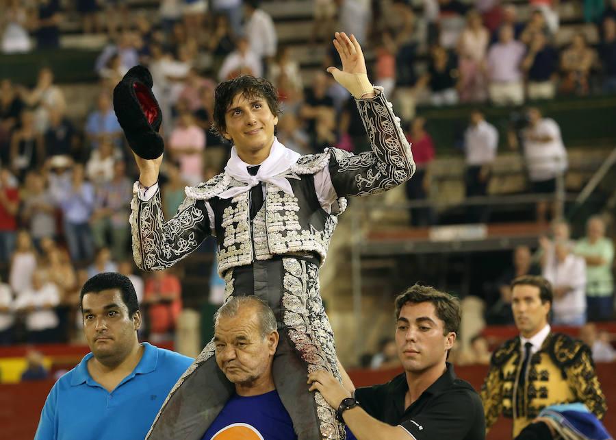 Corrida de toros del 29 de julio en la plaza de toros de Valencia