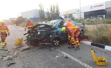 Fallece atrapada una persona en un accidente de tráfico en Quart de Poblet