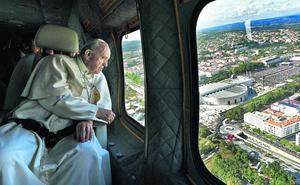 El Papa, en su «hábitat»