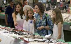 Las reinas van al mercado de Palma