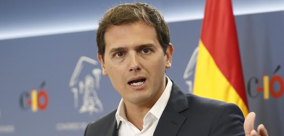 Rivera redobla su presión sobre Sánchez y exige elecciones inmediatas