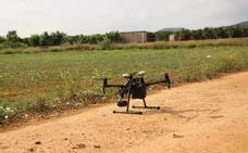 Picassent evitará los robos en el campo con un dron