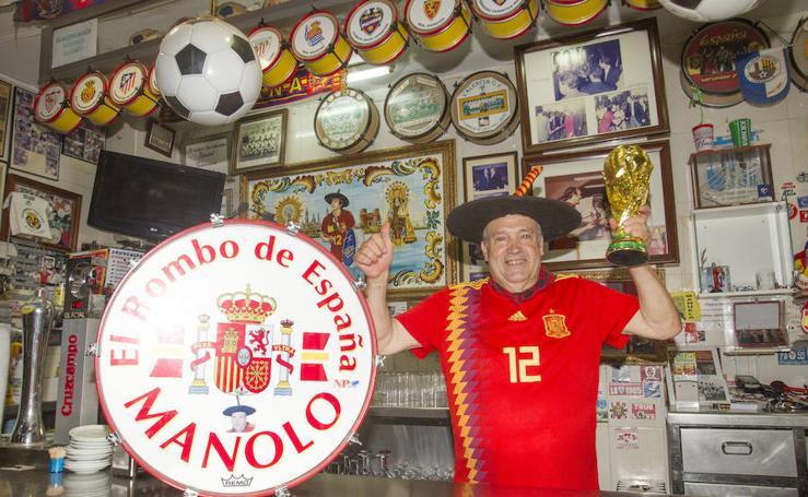 El bar de Manolo 'el del Bombo', en venta